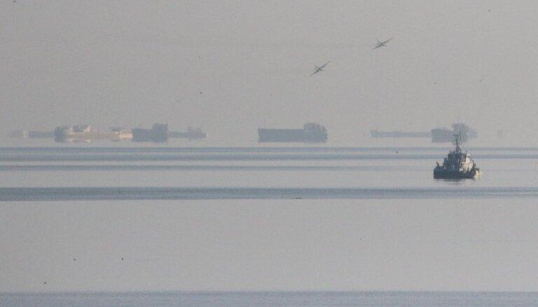 Ukraina grasās sūtīt savus jūras spēku kuģus cauri Kerčas šaurumam