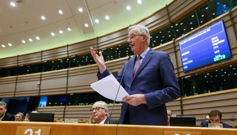 ES paliek nelokāma: 'Brexit' vienošanās plānu nepārskatīs