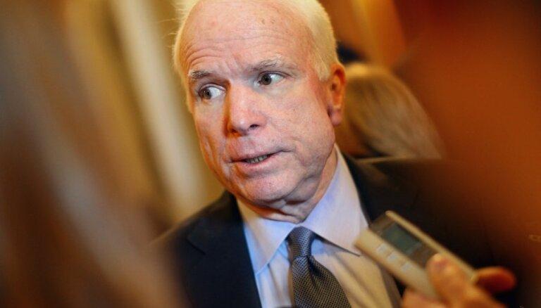 Латвия выразила соболезнования в связи со смертью сенатора Джона Маккейна