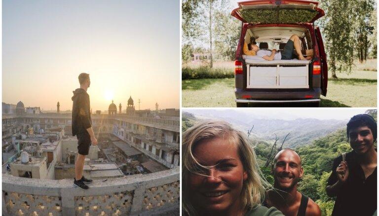 10 stāsti par cilvēkiem, kuriem ceļošana nav tikai brīvdienu atpūta