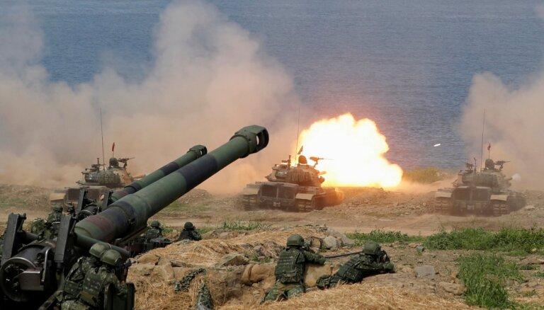 ASV plāno palielināt Taivānas bruņošanas apjomus