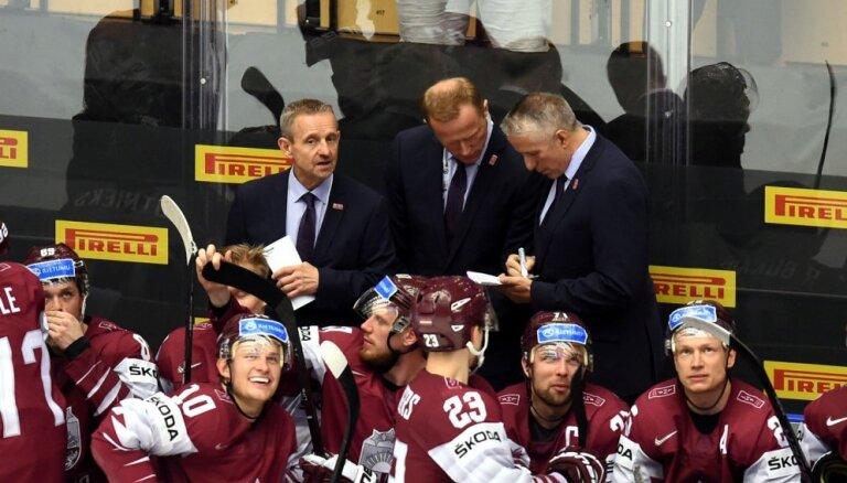 Hārtlijs par gaidāmo dueli pret Zviedriju: varbūt mums izdosies šokēt hokeja pasauli