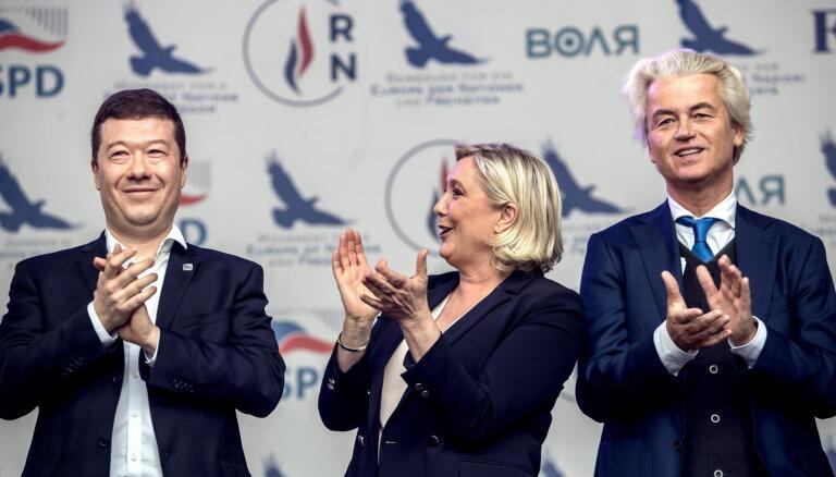 Lepēna pēc EP vēlēšanām sola 'jaunu Eiropas harmoniju'