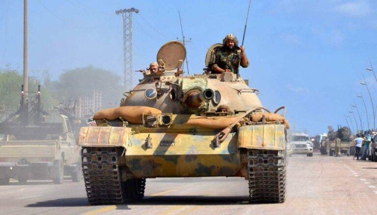 Savienotās Valstis uz laiku izvedušas daļu savu spēku no Lībijas