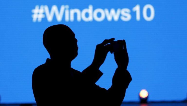 'Windows 10' kļuvusi par otro populārāko operētājsistēmu