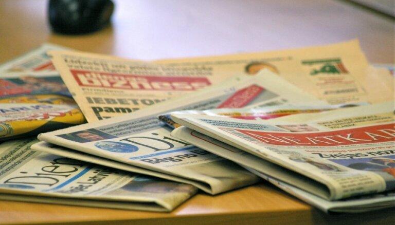 Pārdotākā avīze pērn – 'Vesti Segodnja'