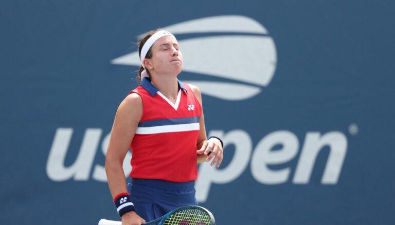 Sevastova nepārvar arī 'US Open' dubultspēļu pirmo kārtu