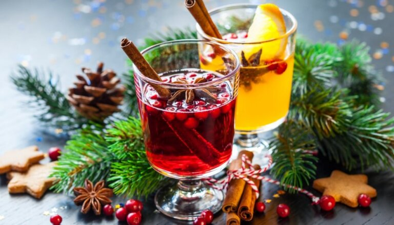 Karstvīns, punšs un citi sildoši dzērieni: 14 receptes svētku noskaņai un labsajūtai