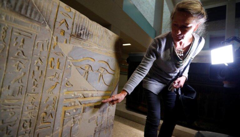 Berlīnes Muzeju salā notikuši vairāki mīklaini vandalisma akti