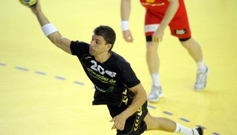 Latvijas handbola izlasē Rīgas Domes kausā atgriezīsies Māris Veršakovs