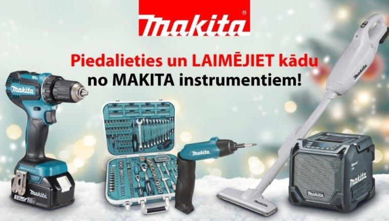 Noslēdzies 'Makita' instrumentu Ziemassvētku konkurss
