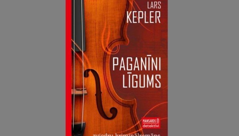 Latviski izdots zviedru autora Lārsa Keplera populārais kriminālromāns 'Paganīni līgums'