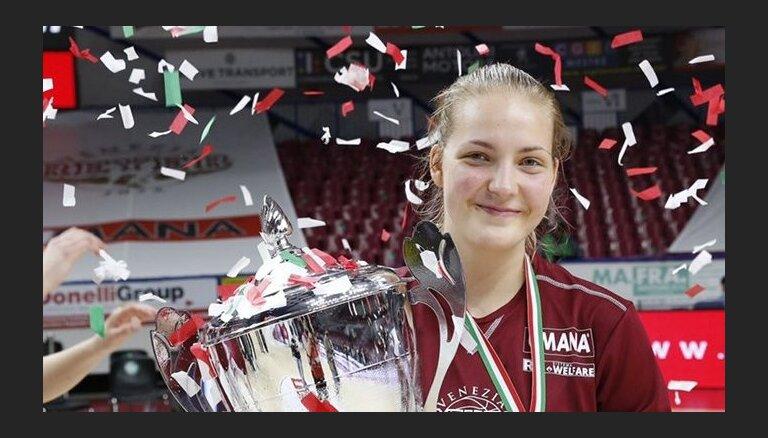 TTT rindas papildina Itālijas čempione Laura Meldere