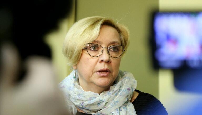 """Глава NEPLP Кезбере осталась на посту: депутаты не договорились по """"процедурному вопросу"""""""