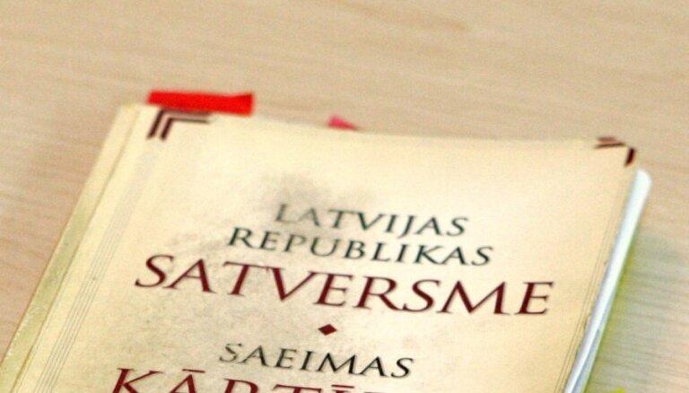 Saeima izskatīšanai komisijās nodod grozījumus Satversmē par tautas vēlētu Valsts prezidentu