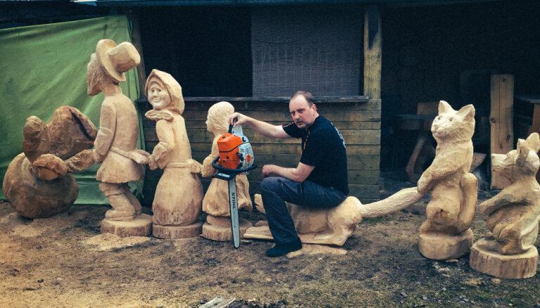 """""""У меня есть какая-то чуйка"""". Вилнис Красовскис и его деревянный зоопарк"""