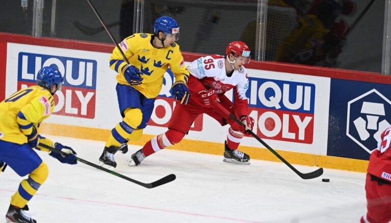 2025. gadā pasaules čempionāts hokejā notiks Stokholmā un Herningā