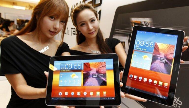 'Apple' panācis 'Samsung Galaxy Tab' planšetes aizliegumu ASV