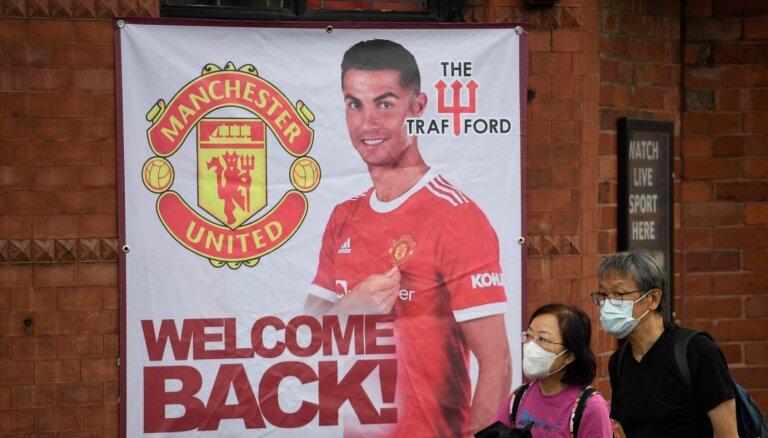 Sulšērs apstiprina, ka Ronaldu jau sestdien spēlēs 'United' rindās