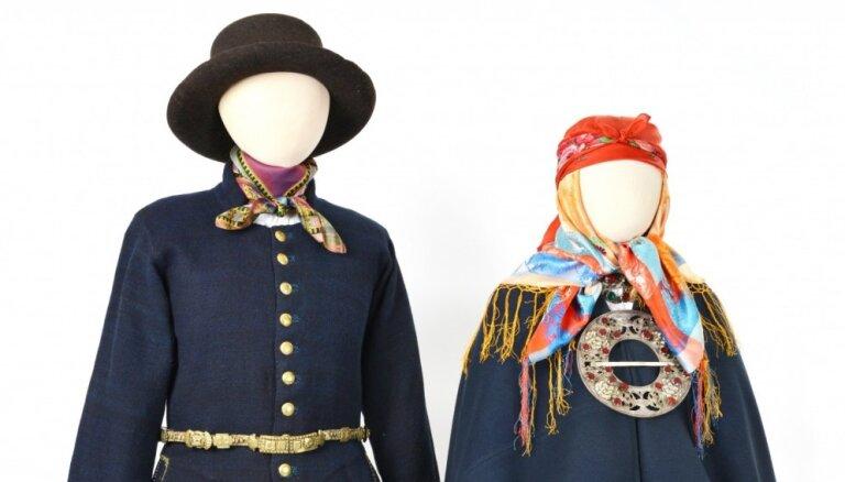 Latvijas Nacionālā vēstures muzeja etnogrāfi iepazīstinās ar Latvijas novadu tautastērpiem