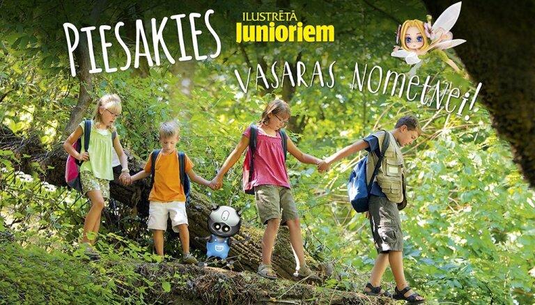 Jau jūnijā 'Ilustrētā Junioriem' vasaras nometne! Nenokavē