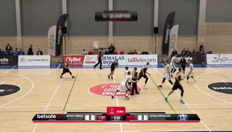 'OlyBet' basketbola līga: 'Betsafe/Jūrmala' - LU. Labākie momenti (14.11.2018.)
