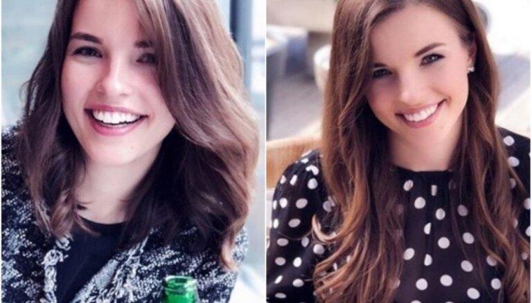 Foto: Zeltiņas meita atvadās no garajām matu cirtām