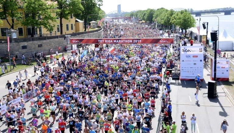 Covid-19 pandēmija liek pārcelt 'Rimi' Rīgas maratonu