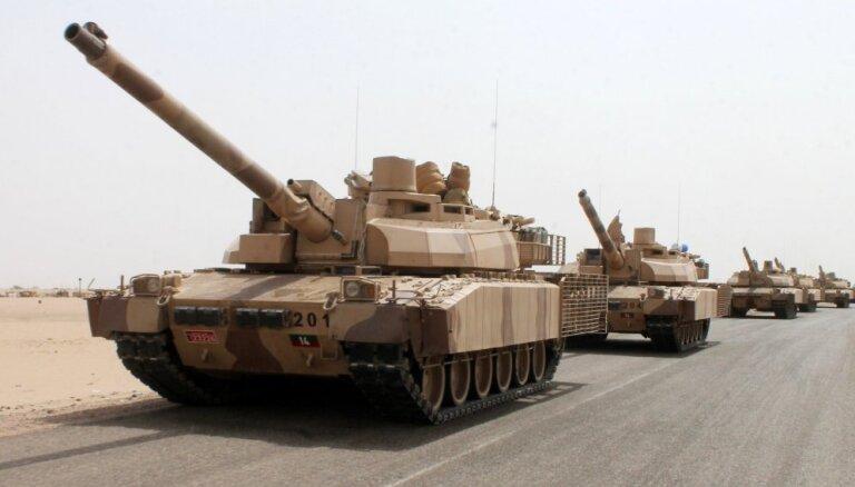 Saūda Arābija ir gatava Sīrijā atbalstīt ASV vadīto koalīciju uz sauszemes
