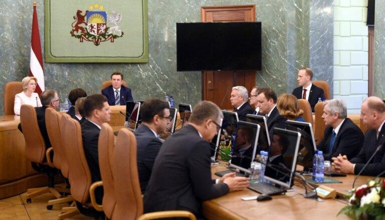 Исполняется 1000 дней работы правительства Мариса Кучинскиса