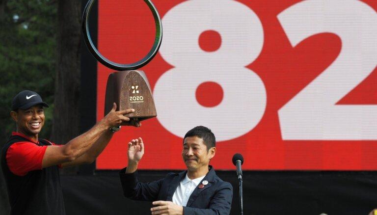Taigers Vudss izcīnījis rekorda vērto 82. uzvaru PGA tūrē