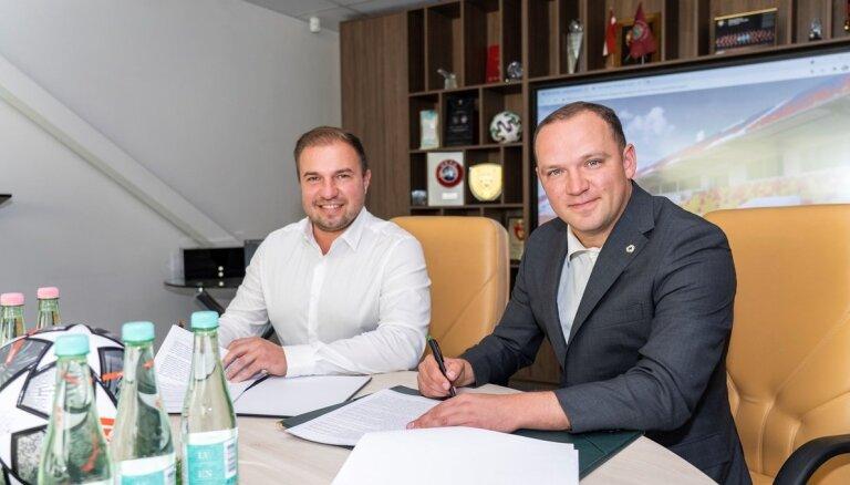 LFF noslēdz līgumu par 'Daugavas' stadiona jumta būvniecību