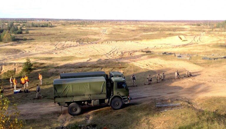 Союзники по НАТО обеспокоены отсутствием условий для занятий спортом на латвийских военных базах