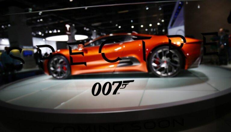 Video: Beidzot līdz skatītājiem nonācis Džeimsa Bonda filmas 'Spectre' galējais treileris