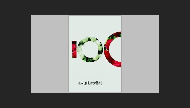 Izdots krājums '100 dzejoļi Latvijai'