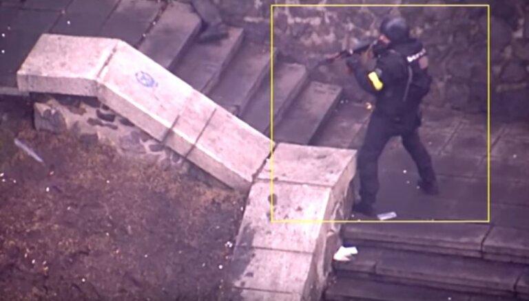 Video: Kā berkutietis Abroskins šāva pa Eiromaidana dalībniekiem Kijevā
