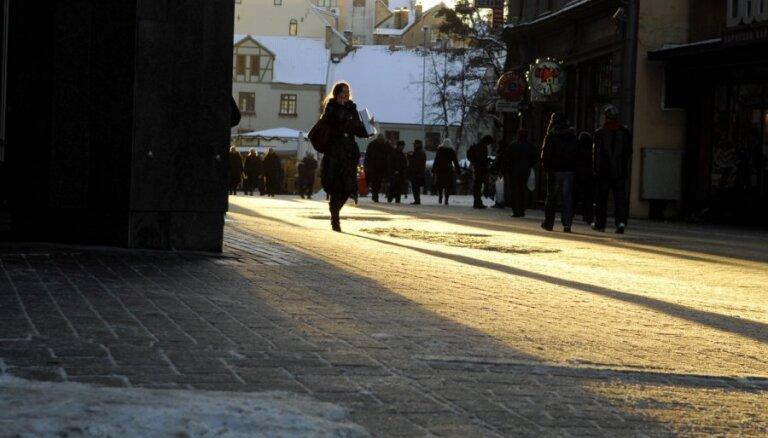 В субботу в Латвии будет в основном солнечно