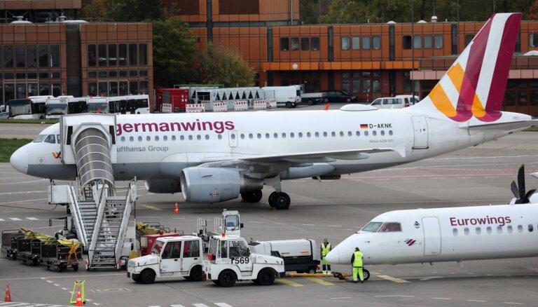Stjuartu streika dēļ Vācijā var tikt atcelti vai kavēties ap 300 avioreisi
