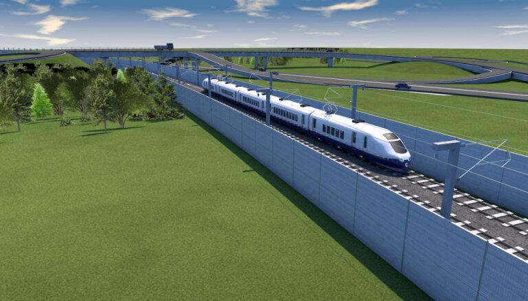 Госконтроль Эстонии: магистраль Rail Baltica подорожает и не будет построена вовремя
