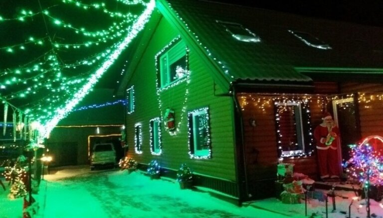 ФОТО. Не хуже, чем в Америке: Как выглядит Рождественская сказка в маленьком литовском городе