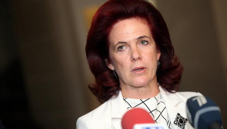 """Аболтиня объяснила, почему """"Единство"""" требует шесть министерских портфелей"""
