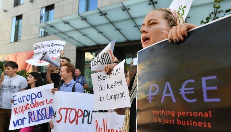 Азербайджан — за, Латвия — против. Как голосовали страны по вопросу возвращения России в ПАСЕ