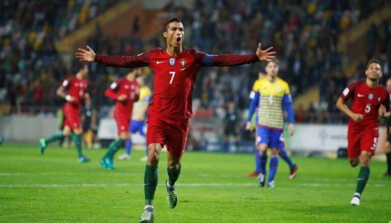 Какие рекорды Роналду может побить на ЕВРО-2020 (+видео всех 9 его голов)