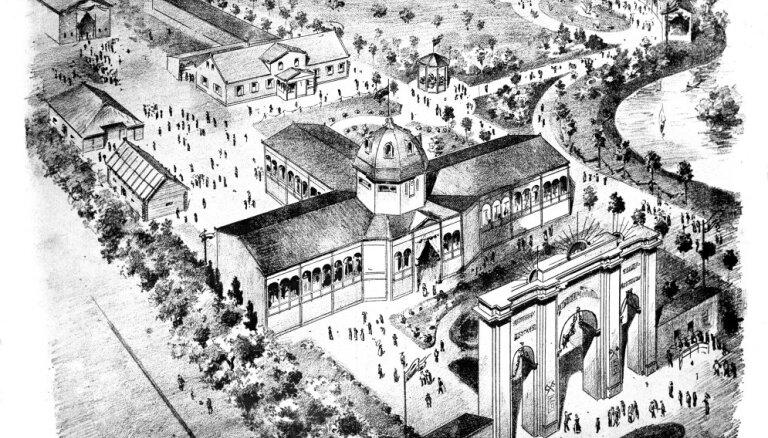 Aicina apmeklēt 1896. gada Latviešu etnogrāfiskās izstādes norises vietu