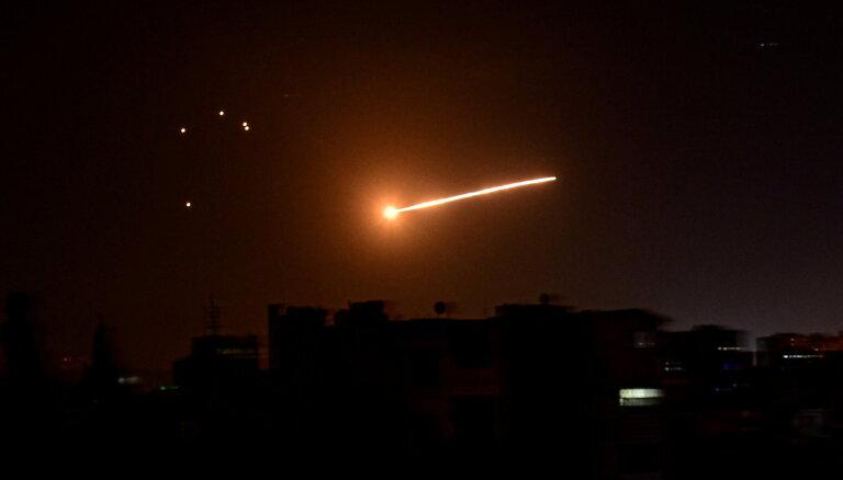 Izraēlas uzlidojumos Sīrijā nogalināti 11 karavīri un kaujinieki