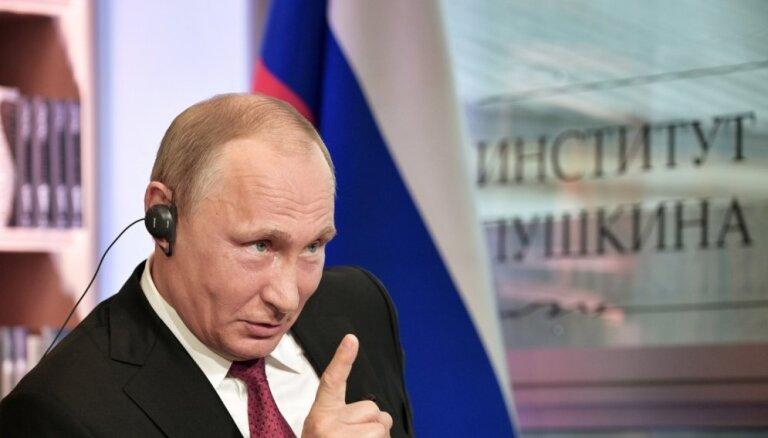 Путин: за атакой на выборы в США могли стоять местные хакеры