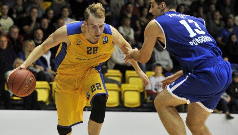 'VEF Rīga' un 'Ventspils' basketbolisti aizvada svarīgas Eiropas kausa spēles