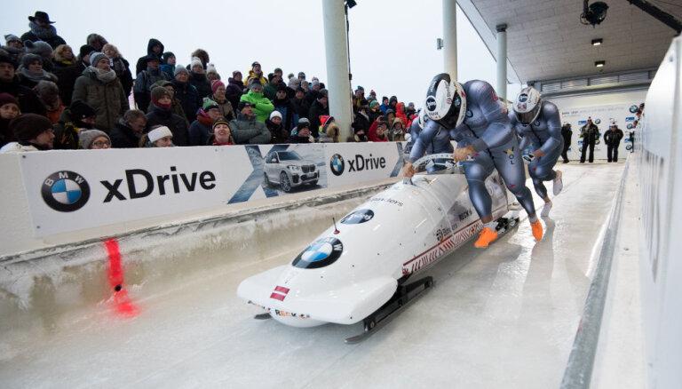 Ķibermaņa divnieks izcīna trešo vietu Pasaules kausa posmā Altenbergā