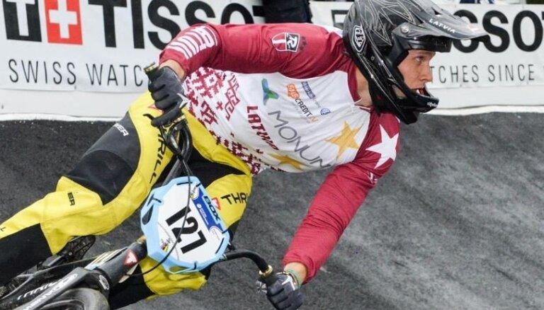 BMX riteņbraucējs Treimanis treniņos lauž atslēgas kaulu un beidz sezonu