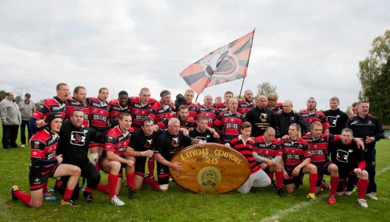 'Miesnieki'/'Ķekava' kļūst par Latvijas čempioniem regbijā